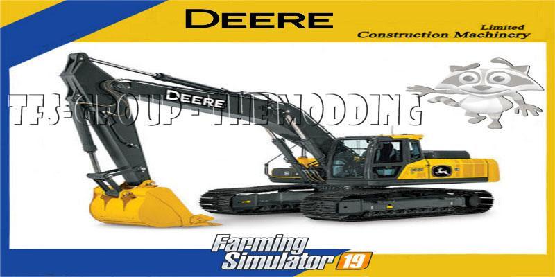 Excavator Deere 210 G V1 5 Fs19 Farming Simulator 19 Mod Fs19 Mod