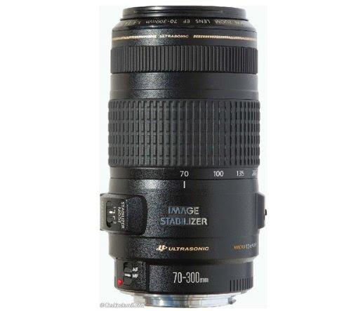 canon ef 70 300mm f 4 5 6 is usm objectif t l zoom objectifs reflex hybrides
