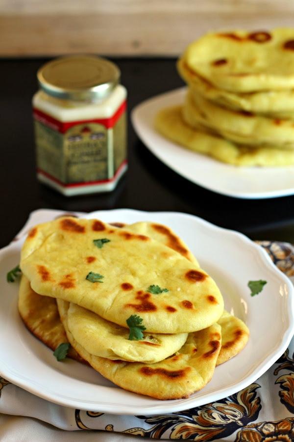 Indian Naan Bread - The Wanderlust Kitchen