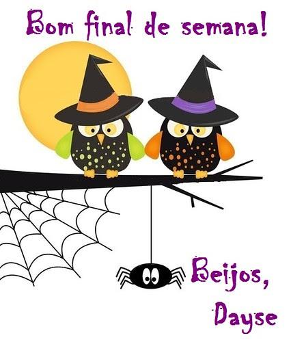 Happy Hallowen! Um doce sábado a todos! by Menina Prendada -
