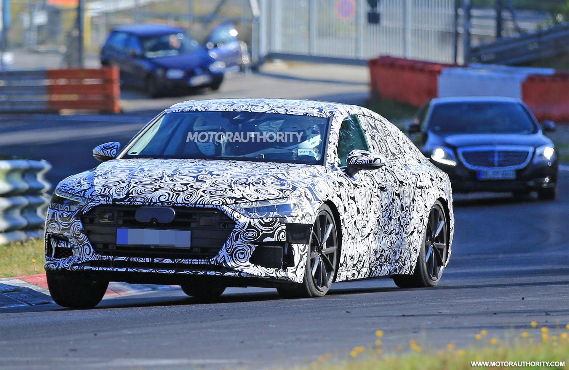 2019 Audi A7 Spy Shots Motor Authority | 2017 - 2018 Cars Reviews