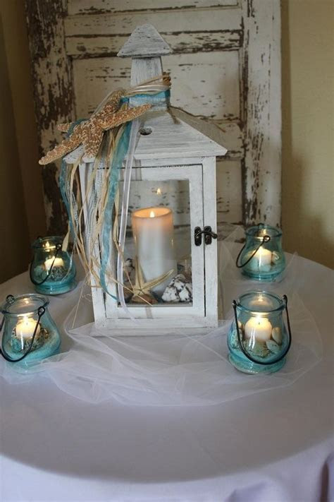 25  best ideas about Rustic lantern centerpieces on