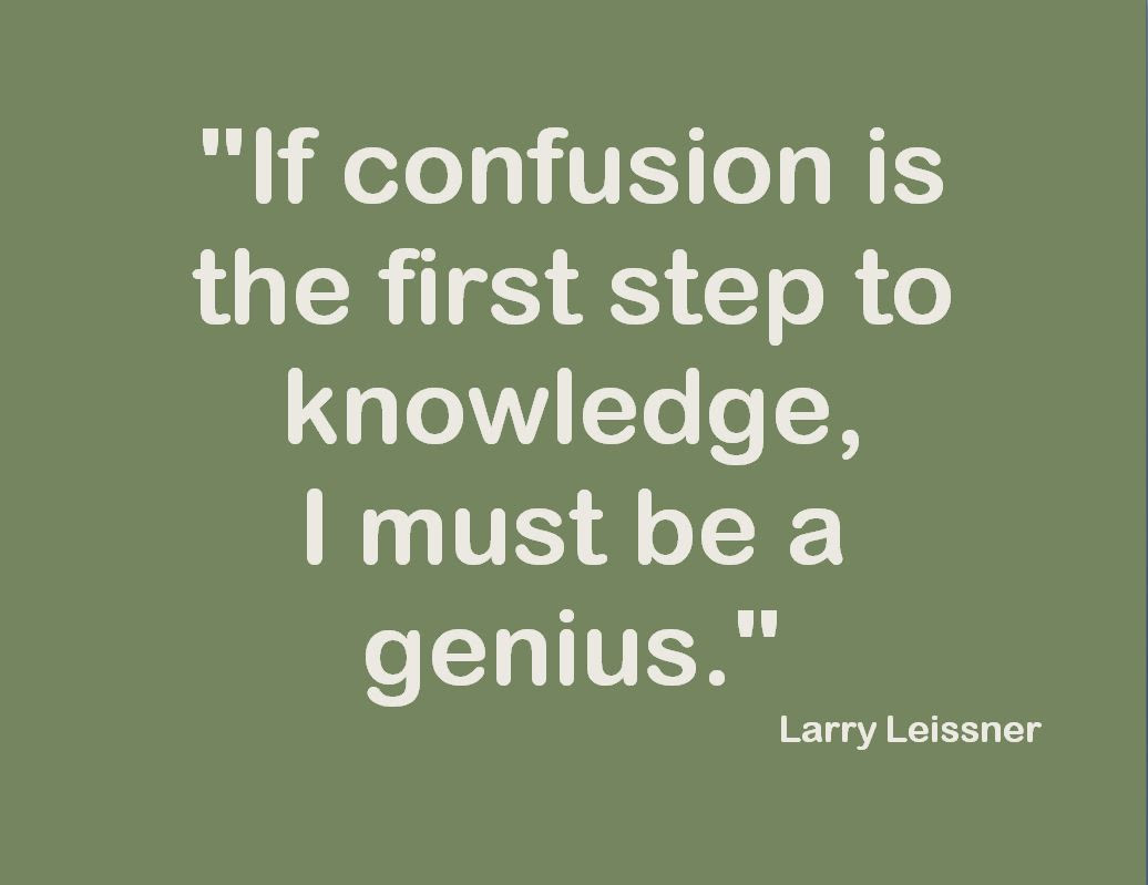 Quotes About Confusion Life 63 Quotes