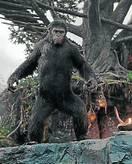 En el cine. El planeta de los simios.