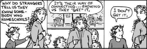 Home Spun comic strip #737