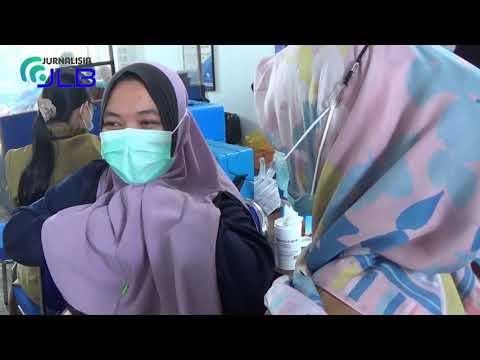Serbuan Vaksinasi Lanal Kotabaru ke Tanah Bumbu