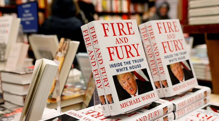 Donald Trump, Fire and Fury Inside the Trump House, Michael Wolff, Trump book, Steve Bannon, Bannon Trump, Indian Express, World News