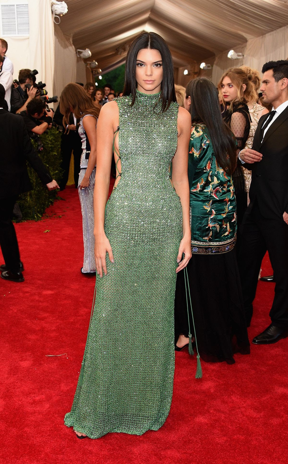 KENDALL JENNER at MET Gala 2015 in New York