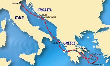 Croatia Greece Map | GOOGLESAND