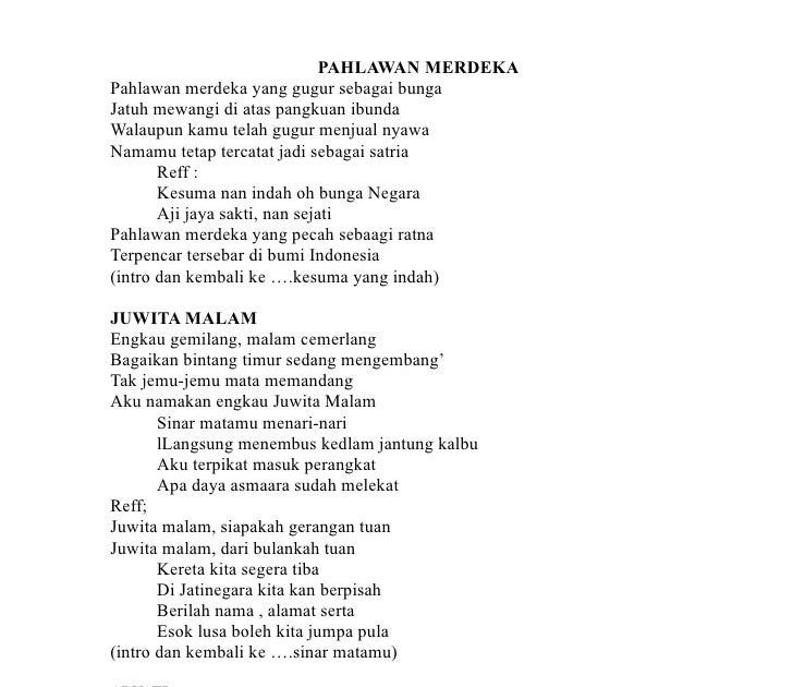 Kumpulan Lagu Indonesia Kunci Gitar - Sacin Quotes