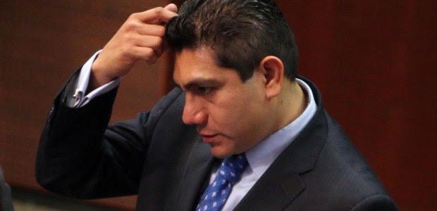 Jorge Luis Preciado Rodríguez, candidato al gobierno de Colima. Foto: Benjamin Flores