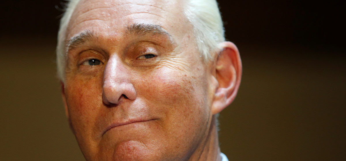 U.S. political consultant Roger Stone, a longtime ally of President Donald Trump, speaks to reporters after appearing before a closed House Intelligence Committee hearing investigating Russian interference in the 2016 U.S. presidential election at the U.S. Capitol in Washington, U.S., September 26, 2017.  REUTERS/Kevin Lamarque - RC18F79C7B80