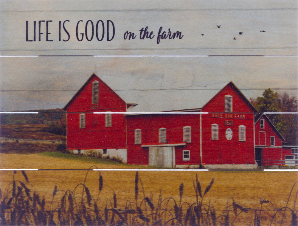 Life Is Good On The Farm Beechdale Frames