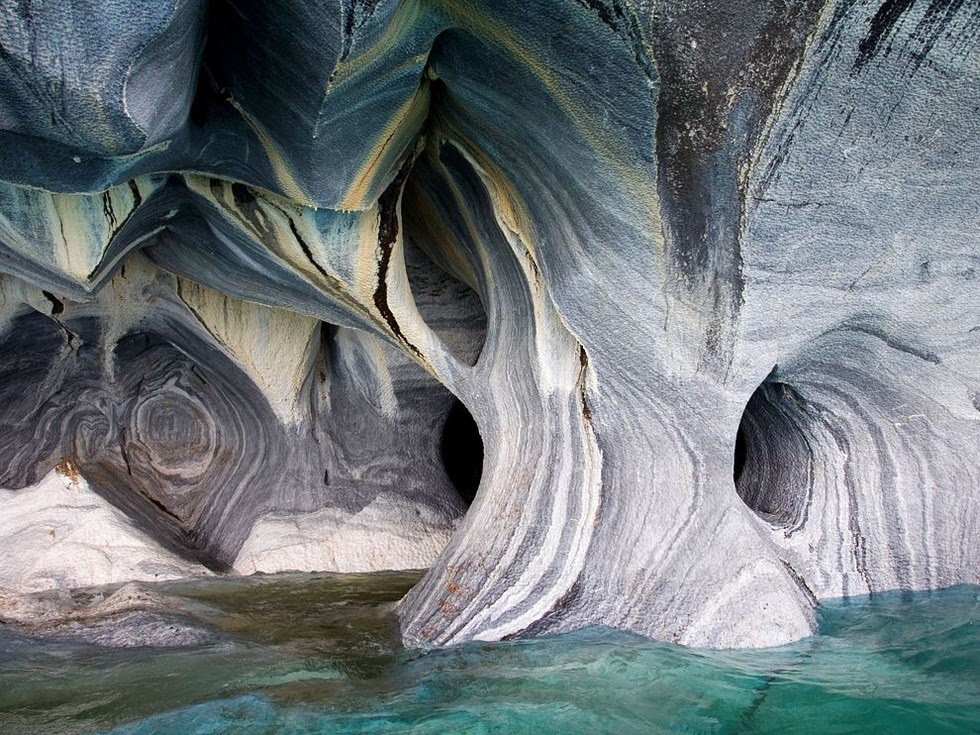 Chile Marble Cave Cathedral