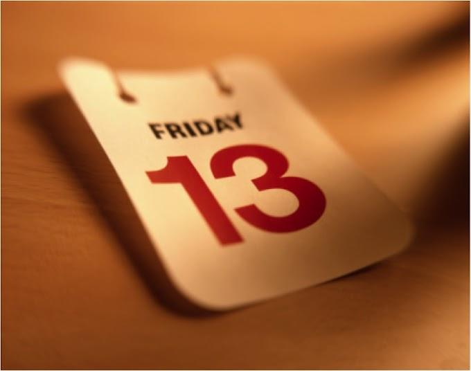 Sexta-feira 13!