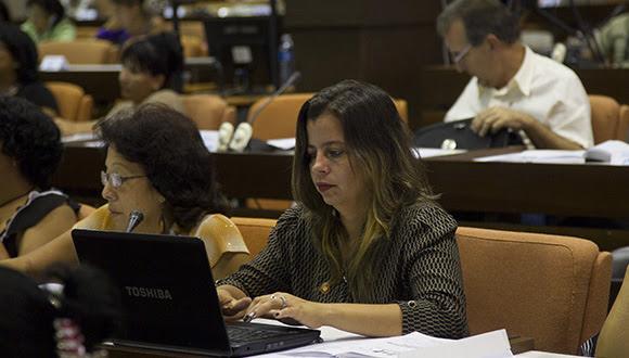 Comisión de Educación, Cultura, Ciencia, Tecnología y Medio Ambiente. Foto: Ismael Francisco/ Cubadebate
