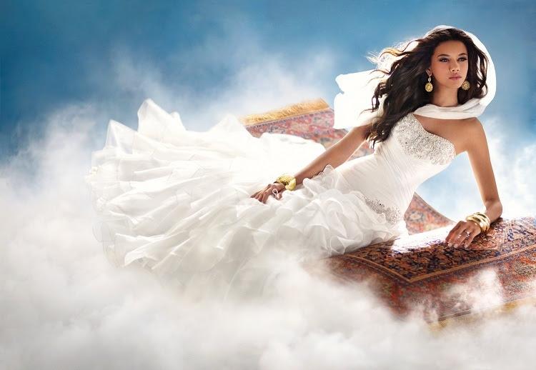 Princess Jasmine wedding dress