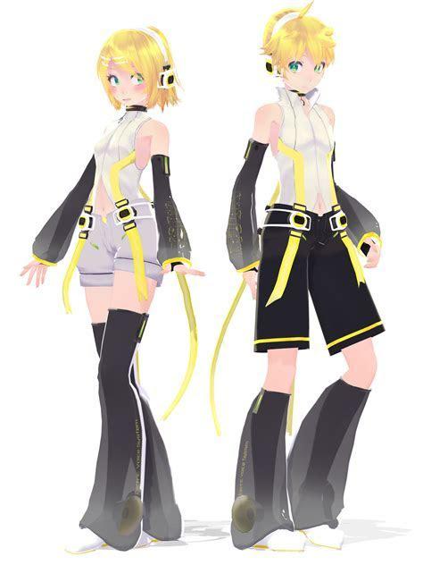 .: Serie DL:. TDA Anexar Kagamine Twins de Duekko   mmd