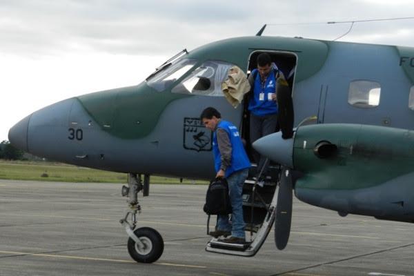 FAB apoia ANAC em inspeções no Sul