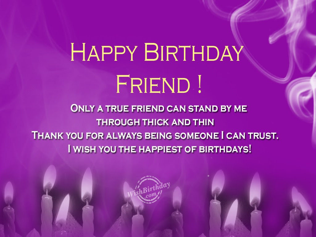 Birthday Wishes For Best Friend Greetings