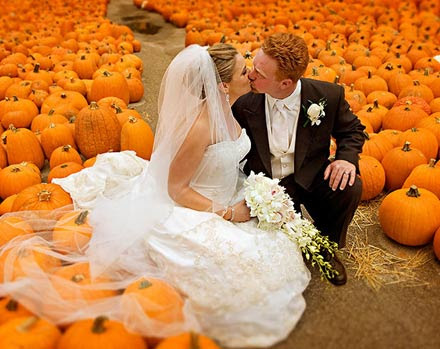 Wedding Photo Shoot Location Pumpkin Patches