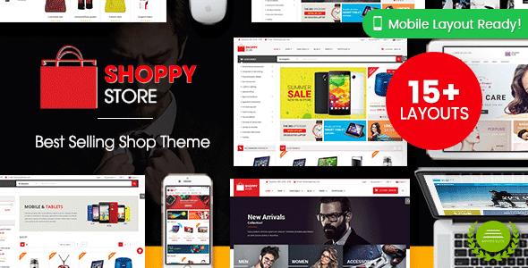 ShoppyStore v3.3.12 - WooCommerce WordPress Theme