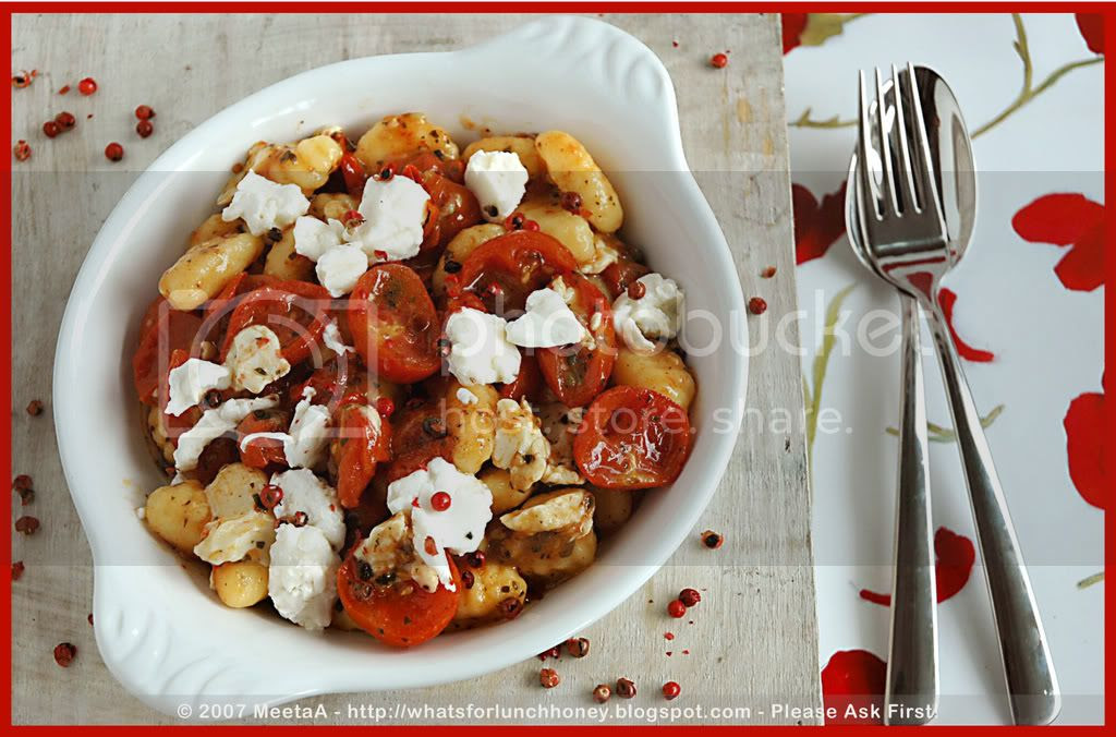 Caramelized Tomatoes Gnocchi (03) by MeetaK