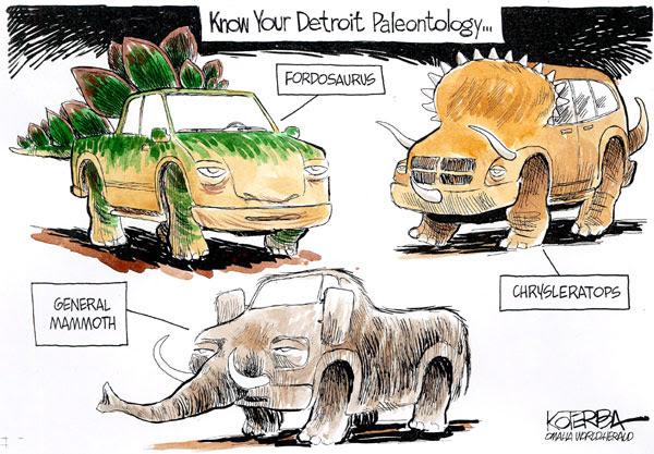 Detroit paleontology