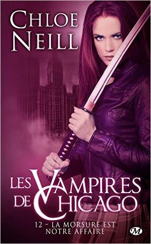 Couverture Les Vampires de Chicago, tome 12 : La Morsure est notre affaire