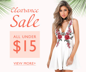 Clearance sale - all under $15