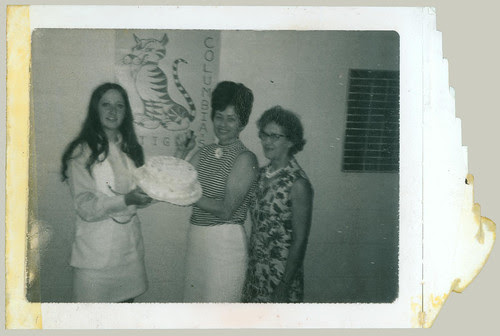 Trio with Cake