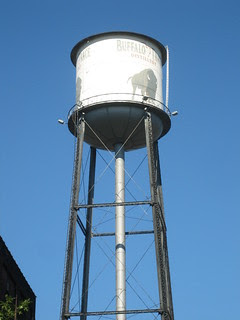 Buffalo Trace Water Tower