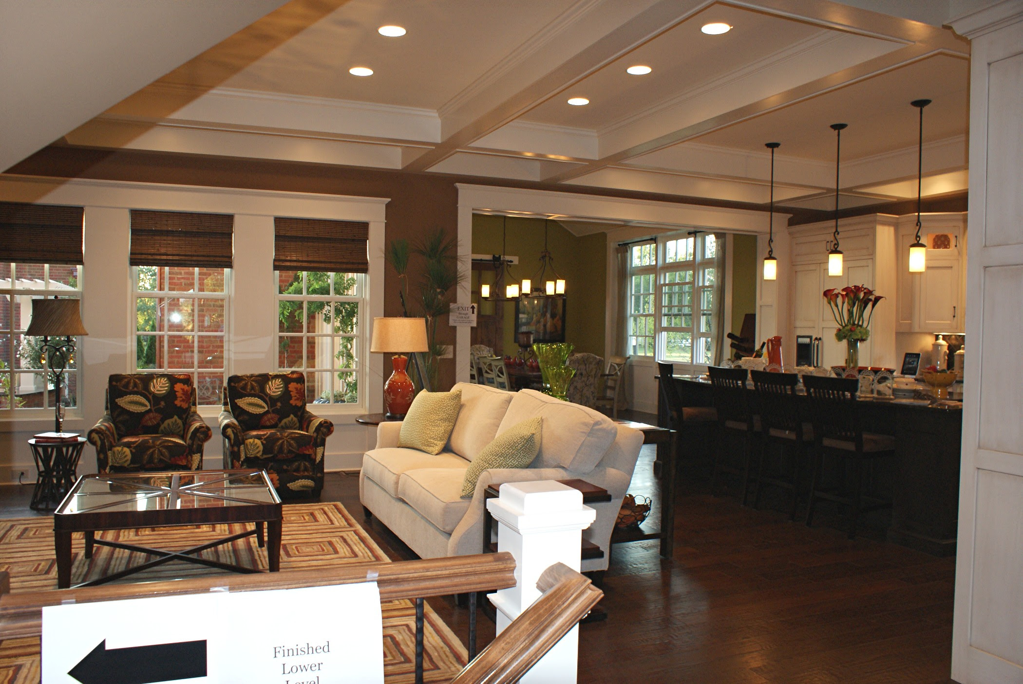 Decorating Open Floor Plan Living Room And Kitchen Dream House