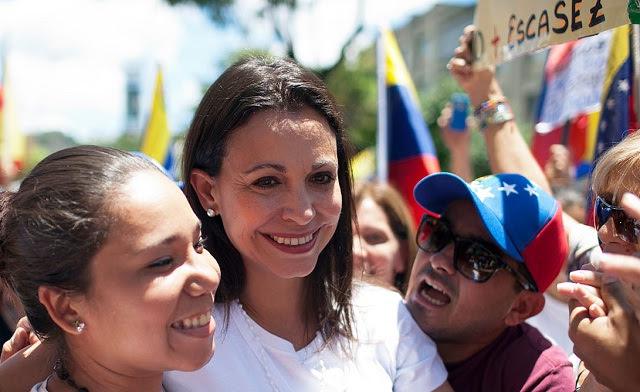 """María Corina Machado """"Los chinos ya tienen claro lo que sabemos los venezolanos: que éste es el régimen más corrupto de nuestra historia. Y el más inepto."""" Foto LP"""