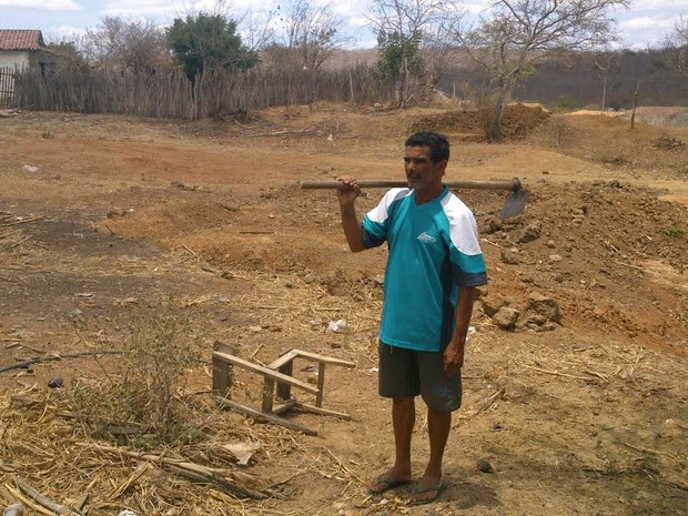 No Ceará, devido à seca, associação faz bingo de poço profundo (Foto: Gioras Xerez/G1 Ceará)