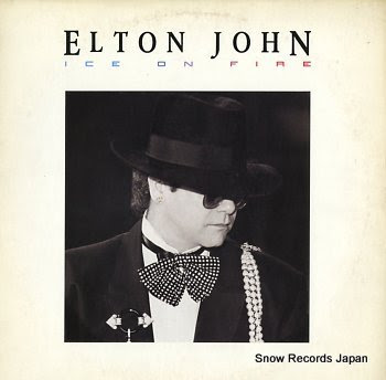 JOHN, ELTON ice on fire