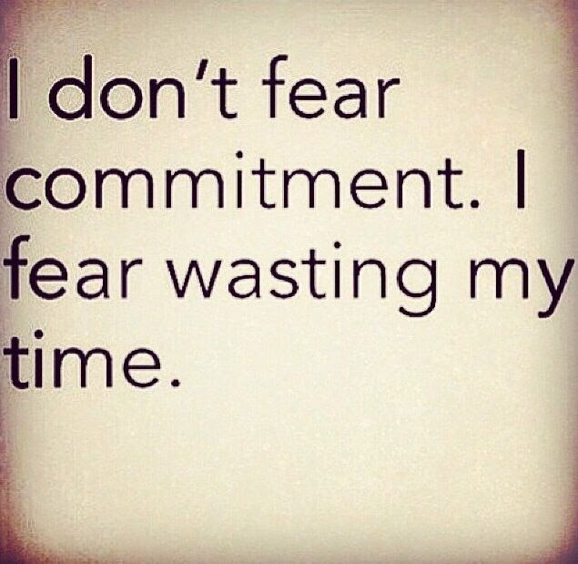 Quotes About Afraid Of Commitment 21 Quotes
