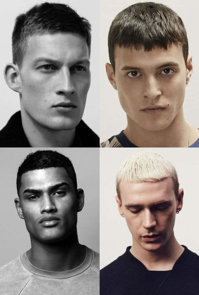 French Crop Hairstyles For Men