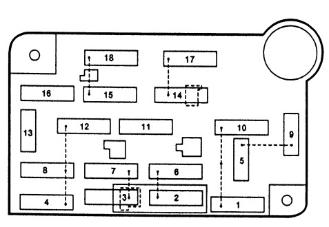 For 1994 Lincoln Town Car Fuse Box - Wiring Diagram & Schemas
