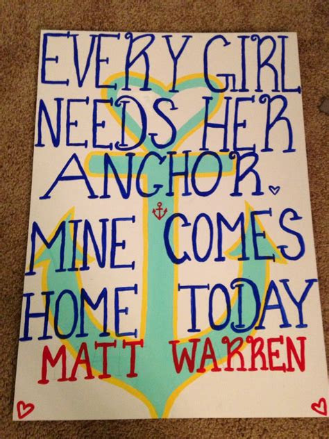 navy homecoming sign atalysiamakayla  thought