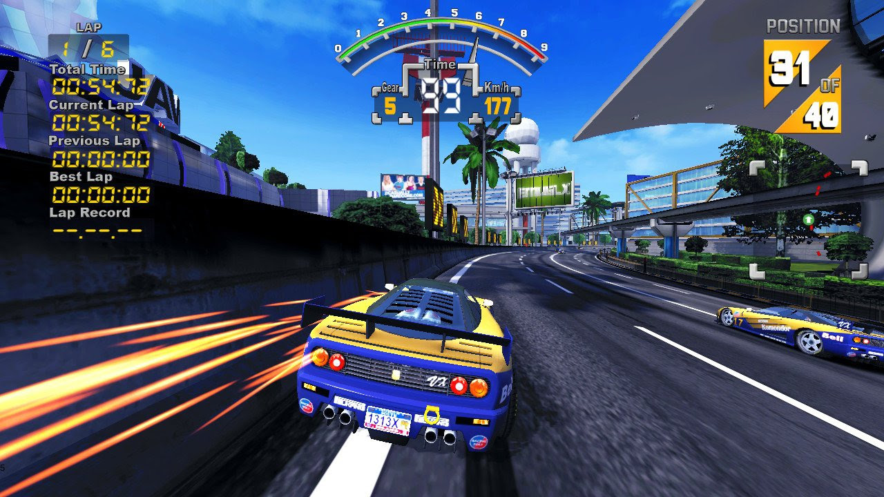 '90s Super GP, aka '90s Arcade Racer, still exists, is supposedly Switch bound screenshot