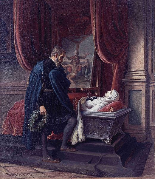 Fil: Theobald van Oer Michelangelo am Sarg der Vittoria Colonna.jpg