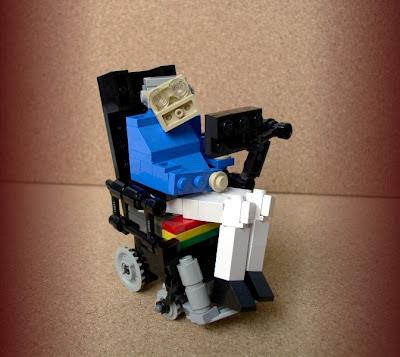 Stephen Hawking Professor in LEGO