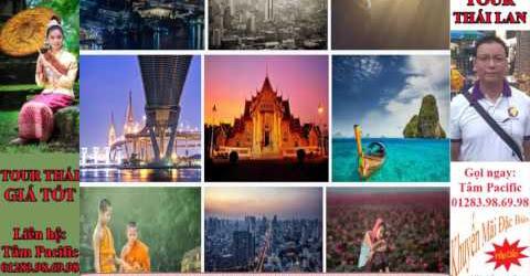 Du lịch Thái Tết nguyên đán 2017 Khởi hành tour Thái Lan giá rẻ 2017
