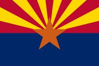 The flag of Arizona
