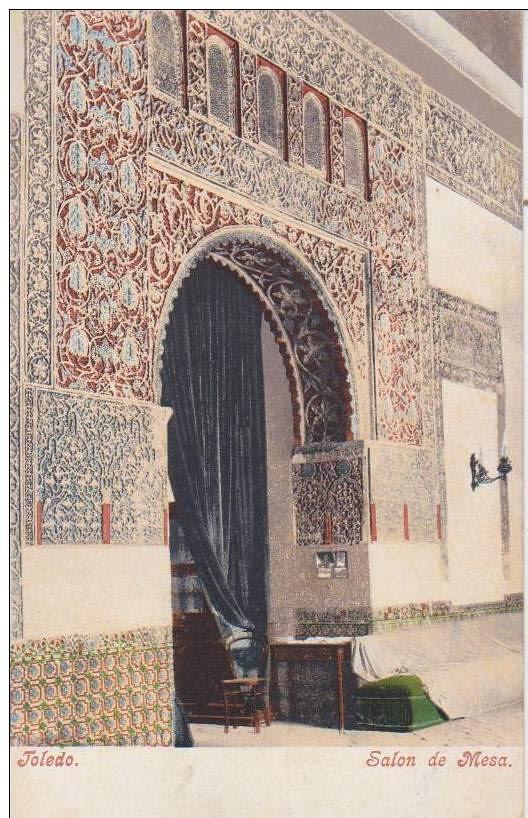 Casa de Mesa hacia 1900. Foto Pürger
