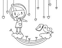 Dibujos De Febrero Para Colorear 14 De Febrero Da De San Valentn