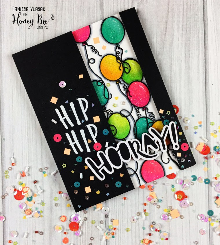 Hip Hip HOORAY | Taniesa Vlasak for Honey Bee Stamps