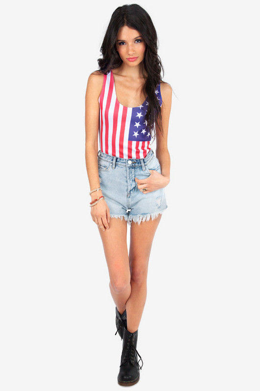 PATRIOT STAR BODYSUIT - product images  of