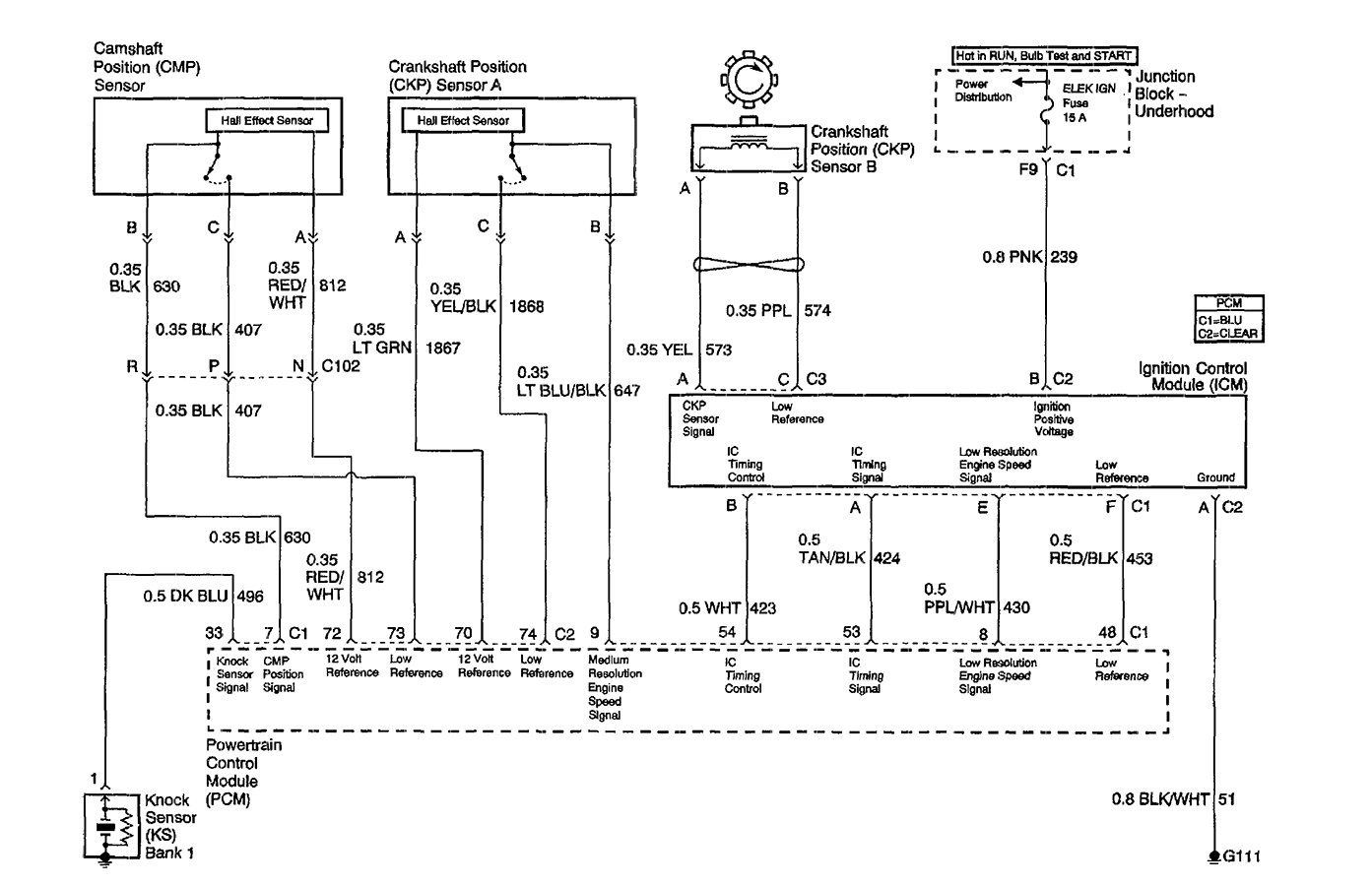 1998 Pontiac Montana Wiring Schematic